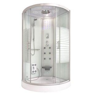 Home Deluxe Duschkabine White Pearl 90 x 90 cm - Bild 1