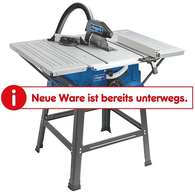 Scheppach HS100S Tischkreissäge mit Tischverbreiterung - Bild 1