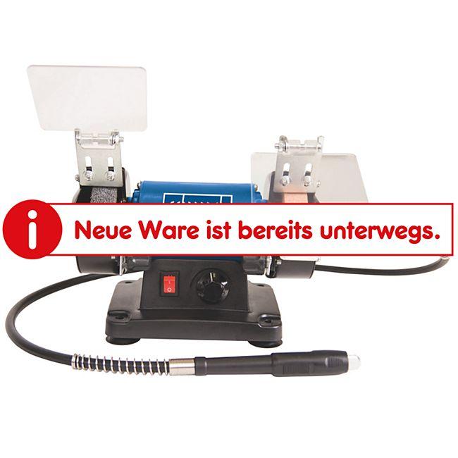 Scheppach HG34 Mini-Doppelschleifer mit Zubehör - Bild 1