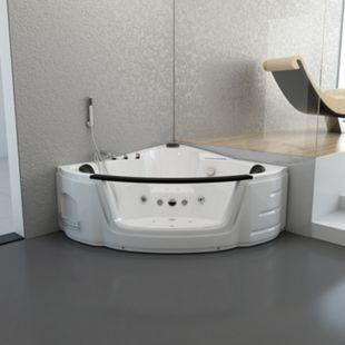 Home Deluxe Laguna L Mini Whirlpool, weiß - Bild 1