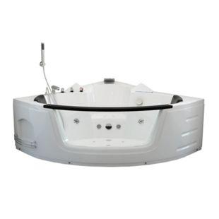 Home Deluxe Laguna L Whirlpool, kompakt weiß - Bild 1