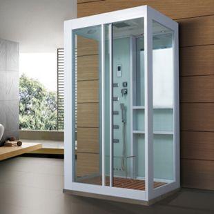 Home Deluxe White Luxory XL Dampfduschkabine - Bild 1
