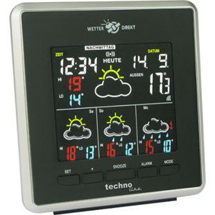 TechnoLine WD 4026 WetterDirekt Station mit farbigem Negativ-Display - Bild 1