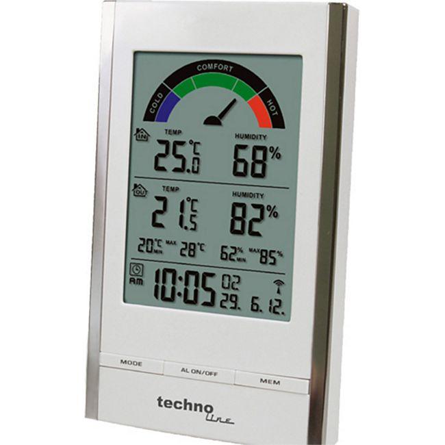 TechnoLine WS 9480 Temperaturstation - Bild 1