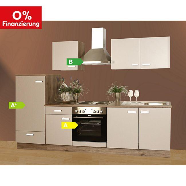Menke Küchen Küchenzeile Lena 270 cm online kaufen | Netto