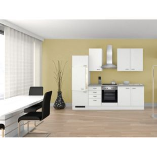 Flex-Well Küchenzeile G-270-2210 + Haube 6091 Wito 270 cm - Bild 1