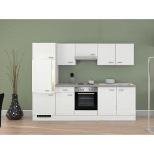 Flex-Well Küchenzeile G-270-2208-000 Wito 270 cm - 4-Platten-Kochmulde - Bild 1