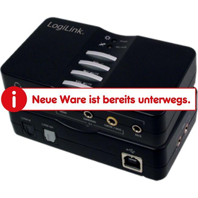 LogiLink UA0099 USB Sound Box 7.1 8-Kanal - Bild 1