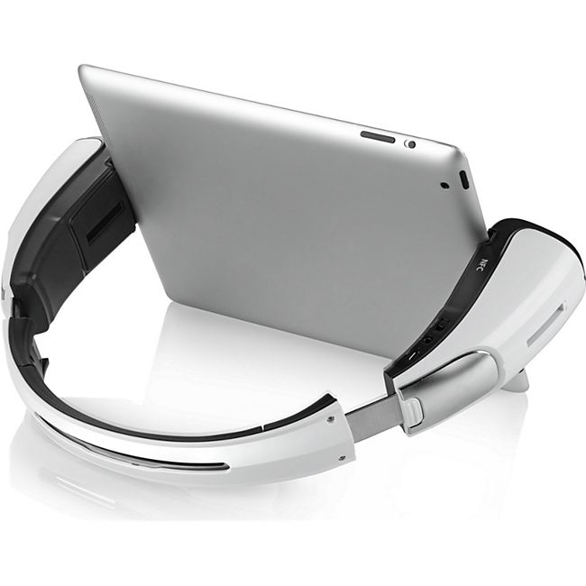 Spiffy iStage faltbarer Bluetooth Lautsprecher - weiß - Bild 1