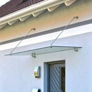 Home Deluxe Glasvordach, 150x90cm - Bild 1