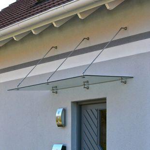 Home Deluxe Glasvordach, 300x90cm - Bild 1