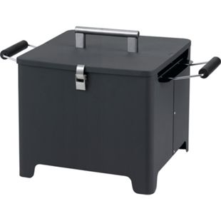 "Tepro ""Cube"" Chill&Grill Holzkohlegrill anthrazit - Bild 1"