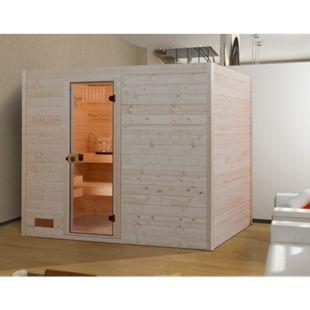 Weka Sauna Valida 1, 239 x 203 x 189 cm - Bild 1
