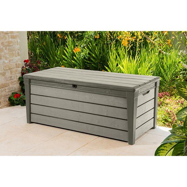 Keter Brushwood Box 455 Liter, taupe - Bild 1
