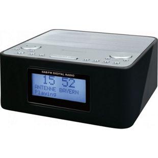 Soudmaster UR170SW DAB+ Radiowecker mit Festsenderspeicher - schwarz - Bild 1