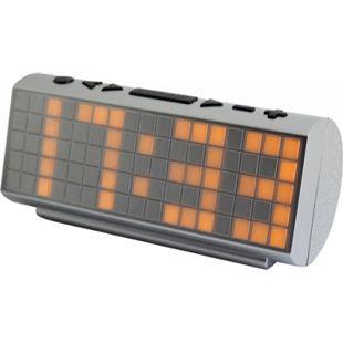 Soundmaster UR200SI Jumbo UKW-PLL Radio mit Temperaturanzeige - silber - Bild 1