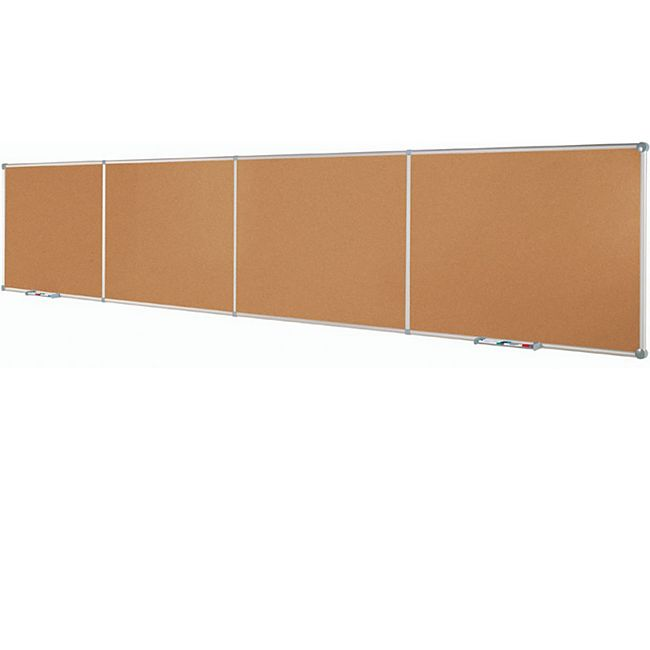 MAUL Endlos-Pinnboards MAULpro, Kork - Grundmodul  90 x 120 cm, quer - Bild 1