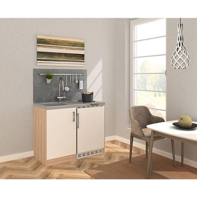Respekta Miniküche MK100ESWS 100 cm weiß - Kochmulde - Bild 1