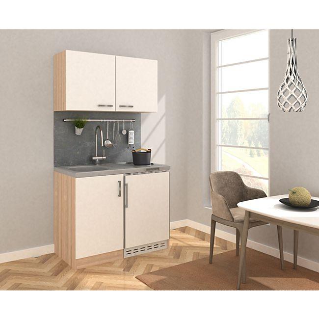 Respekta Miniküche MK100ESWOSS 100 cm weiß - Kochmulde - Bild 1
