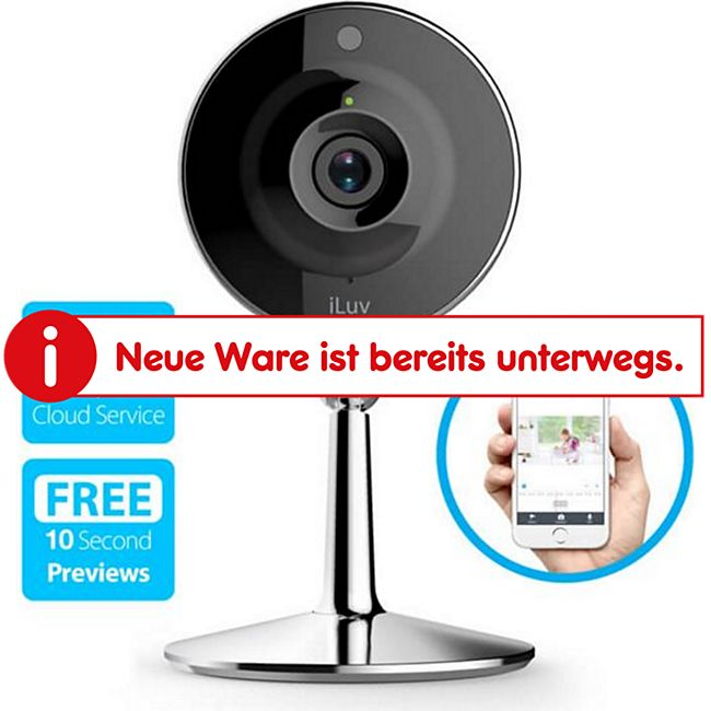 iLuv mySight HD Video Kamera Überwachungskamera - Bild 1