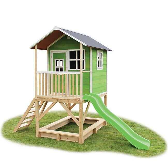 EXIT Loft 500 Holzspielhaus Grün - Bild 1
