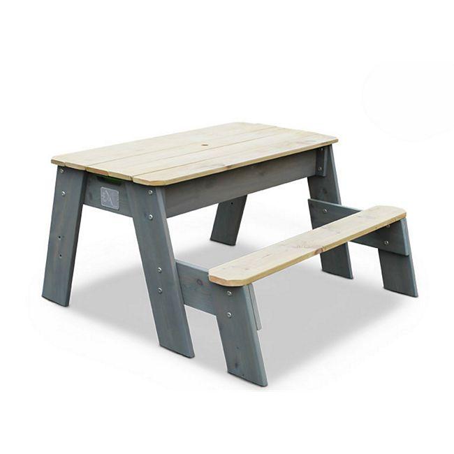 EXIT Aksent Sand-, Wasser- und Picknicktisch, 1 Sitzfläche inkl. Sonnenschirm und Gartenwerkzeug - Bild 1