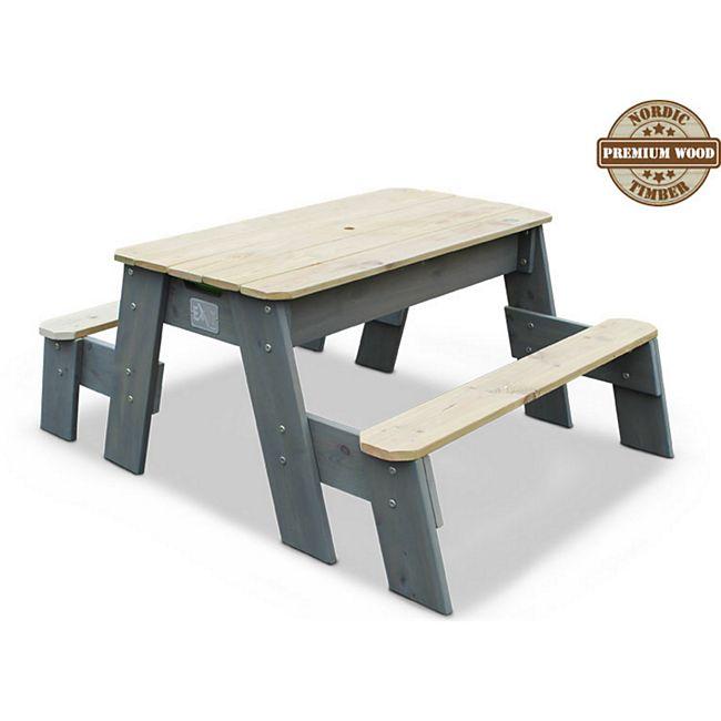 EXIT Aksent Sand-, Wasser- und Picknicktisch, 2 Sitzflächen - Bild 1