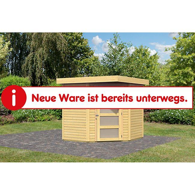 Woodfeeling Schwandorf 3 Gartenhaus, naturbelassen - Bild 1