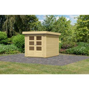 Woodfeeling Askola 2 Gartenhaus, naturbelassen - Bild 1