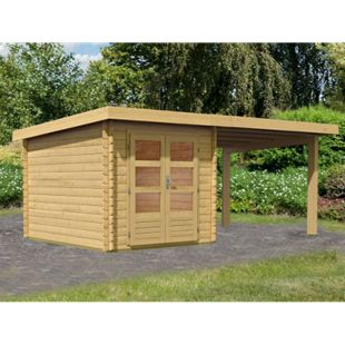 Woodfeeling Bastrup 4 Gartenhaus, mit Schleppdach - Bild 1