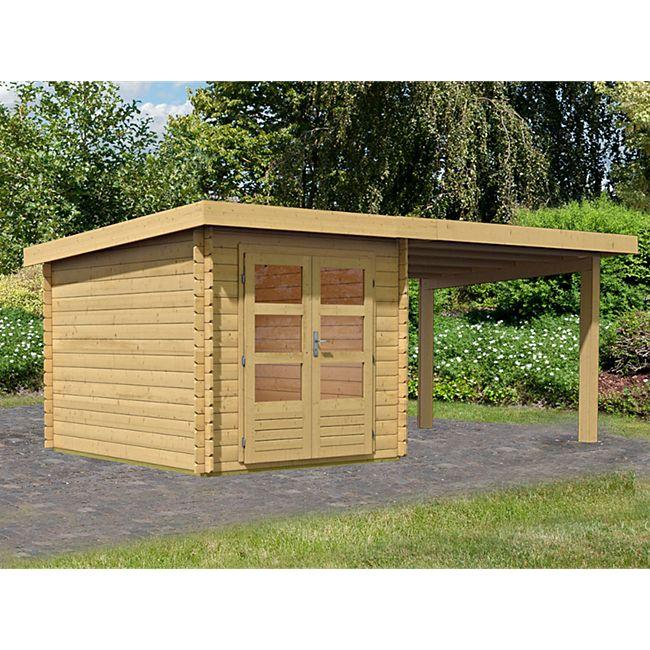 Woodfeeling Bastrup 4 Gartenhaus, mit Schleppdach online kaufen | Netto