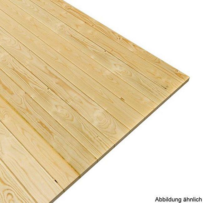 Woodfeeling Fußboden für Sockelmaß 490 cm x 490 cm - Bild 1