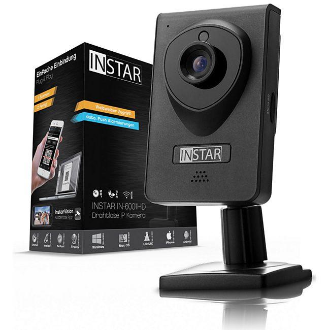 Instar IN-6001HD WLAN Überwachungskamera - schwarz - Bild 1