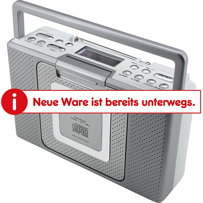 Soundmaster BCD480 Bad/Küchen CD-MP3 Stereo-Radio - Bild 1