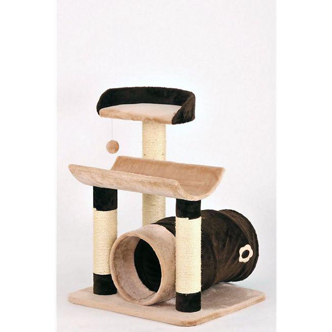 Silvio Design Toy Kratzbaum braun-beige - Bild 1