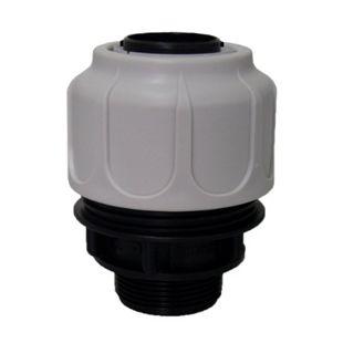 T.I.P. Schwimmbadfilter-Schlauchanschluss, 32 mm - Bild 1