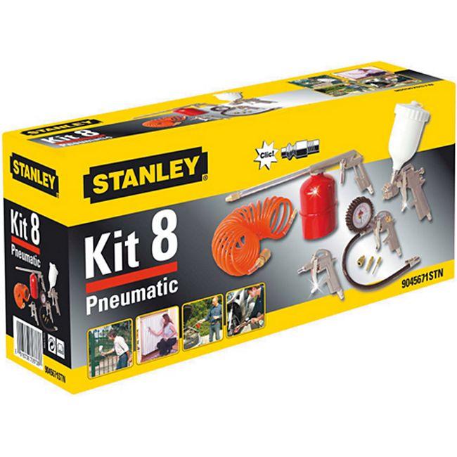 Stanley 1821 Airtoolkit 8 tlg. - Bild 1