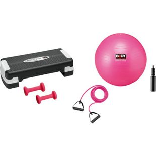 Gym set mit Aerobic Step, Hanteln, Tube & Gym-Ball - Bild 1