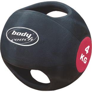 Medizinball mit 2 Handgriffen 4 kg - Bild 1