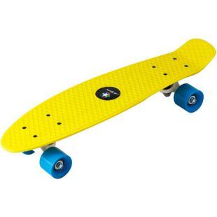 PP Skateboard 22''x5 7/8'' ABEC5, PVC 55x45mm wheel gelb - Bild 1