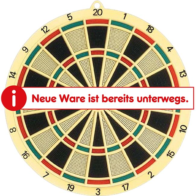 Soft Dartboard 37,5cm, 6 Darts & 6 Extra Tips - Bild 1