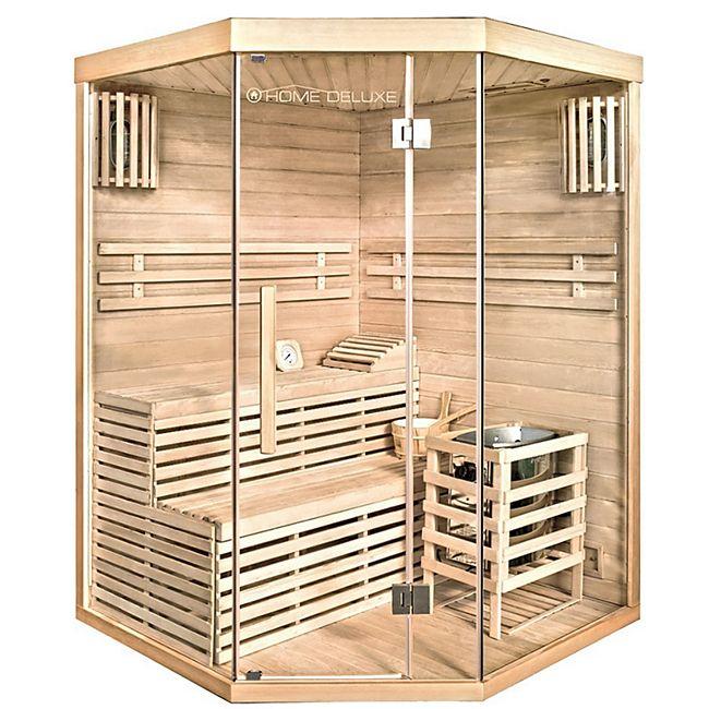 Home Deluxe 7220 Skyline XL Sauna, inkl. 6 kW Saunaofen - Bild 1