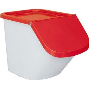 BRB Zutatenspender / Vorrats-Container / Abfallsammler 40 l rot - Bild 1