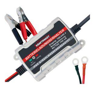 Dino KRAFTPAKET 136303 6/12V 750mAh Batterieerhaltungs-Ladegerät - Bild 1