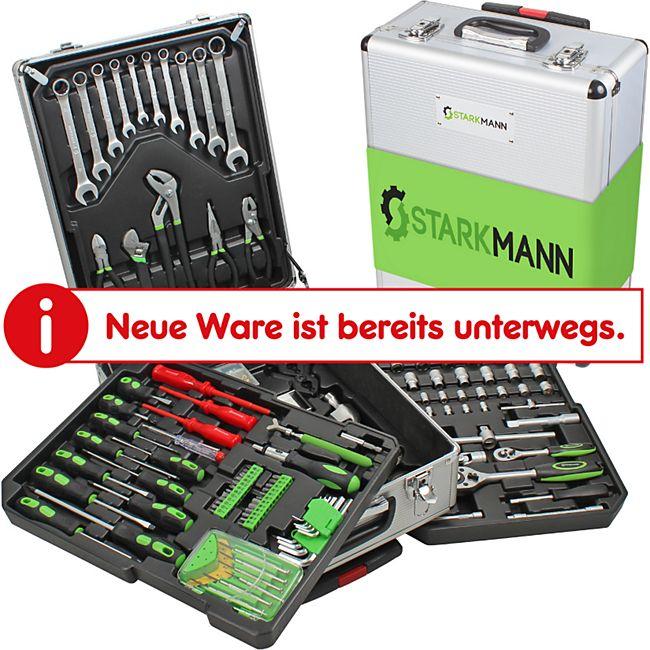 Starkmann Greenline Werkzeugkoffer 399-teilig - Bild 1