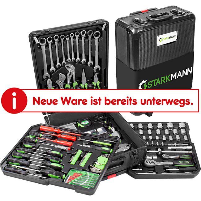 Starkmann Blackline Werkzeugkoffer 399-teilig - Bild 1
