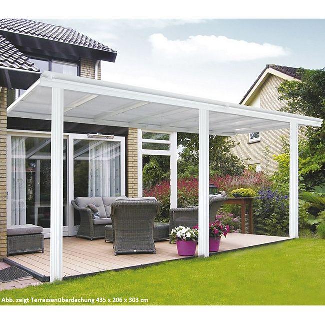 Home Deluxe 8396 Terrassenüberdachung, 312 x 226/278 x 303 cm - Bild 1