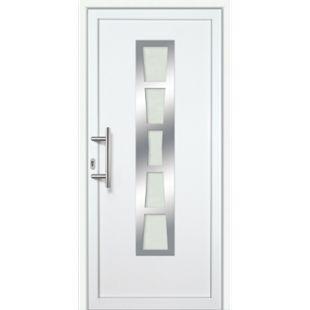 KM Meeth Kunststoff/Aluminium Haustür Modell KA640P links, nach innen öffnend - Bild 1