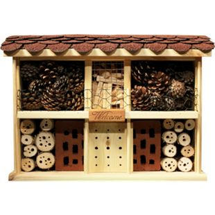 Dobar Landhaus Komfort Insektenhotel, inkl. Balkon und Terrasse - Bild 1
