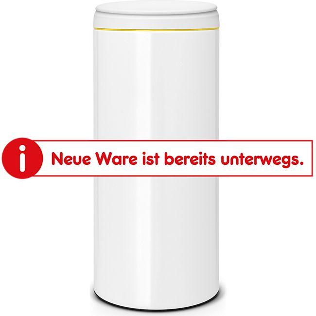 Brabantia Flip Bin 30 Liter mit Kunststoffeinsatz, weiß - Bild 1